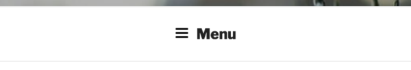 Hamburger Menu Collapsed