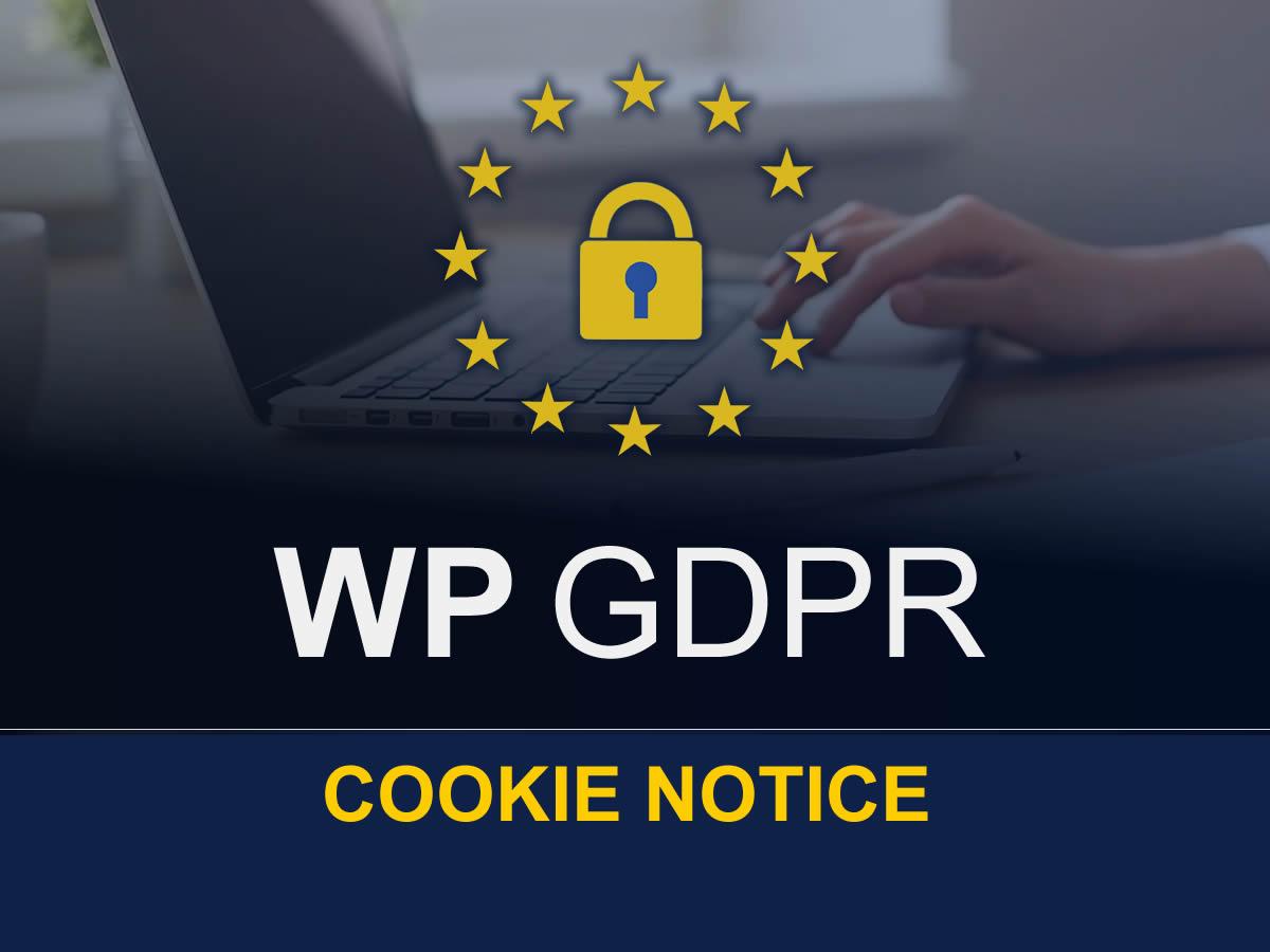 WP GDPR Cookie Notice