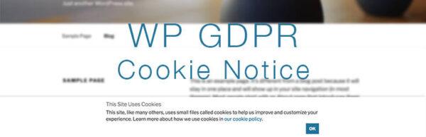 WP GDPR Cookie Notice Banner