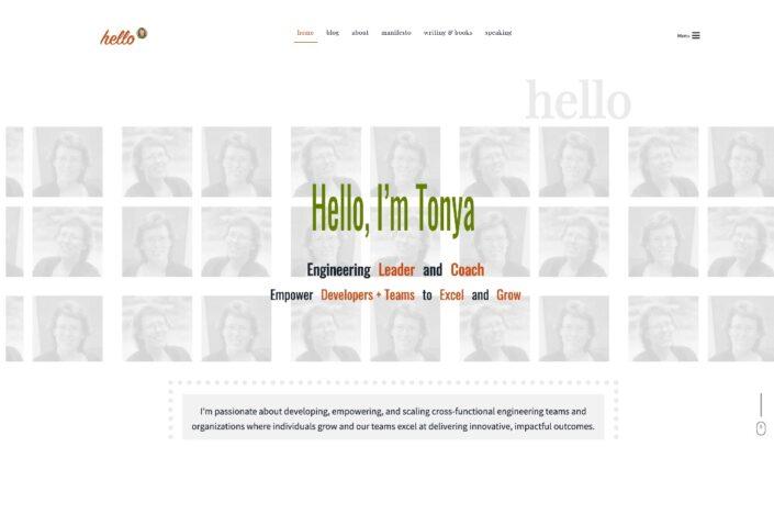 Hello from Tonya