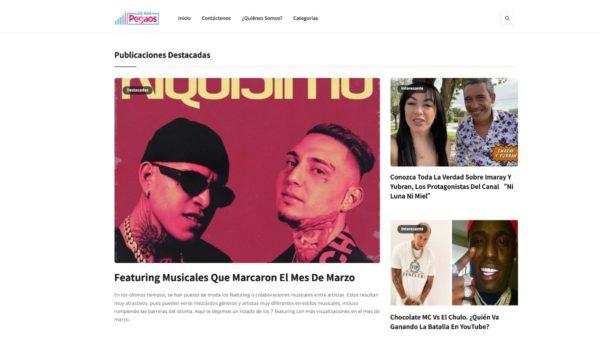 Losmaspegaos.com