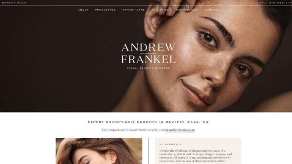 Andrew Frankel Rhinoplasty