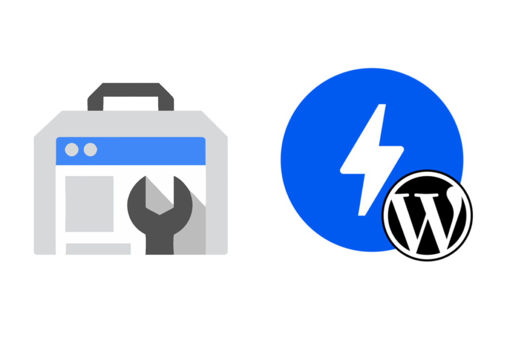 search console and amp wp logos
