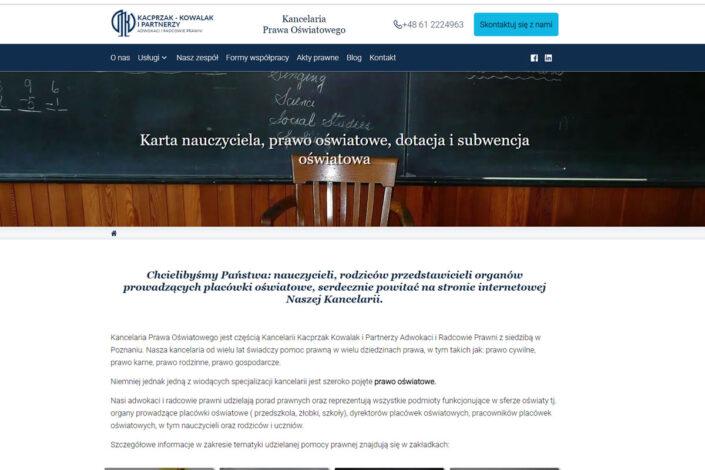 Kacprzak Kowalak Kancelaria Adwokacko Radcowska
