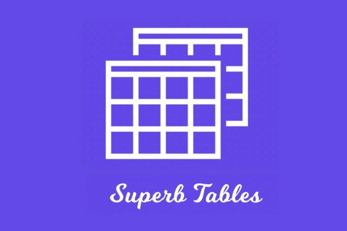 Superb WordPress Table